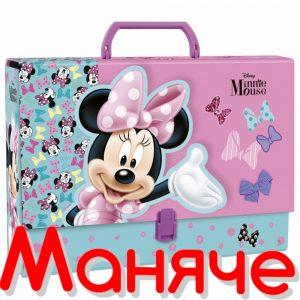DERFORM Детска чанта с дръжка MINNIE MOUSE