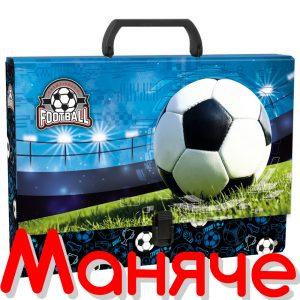 DERFORM Детска чанта с дръжка Футбол