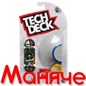 TECH DECK Мини скейтборд с рампа за каскади